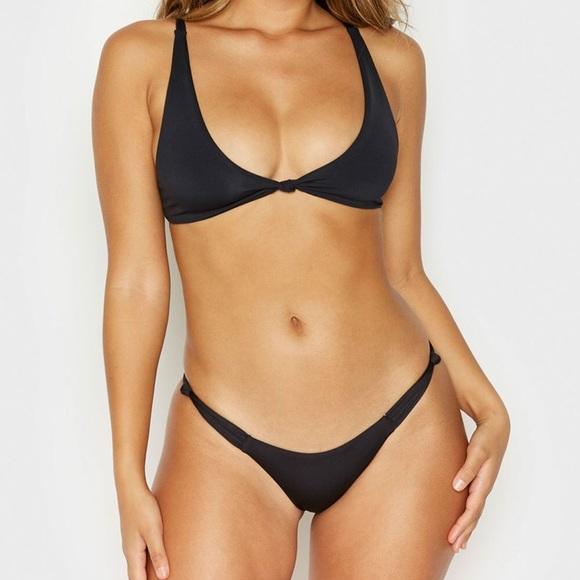 f3528079c1 Frankie s Bikini Malibu Bottoms in Black